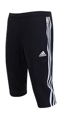 SPURS 3/4 TRAINING PANT (BLACK)