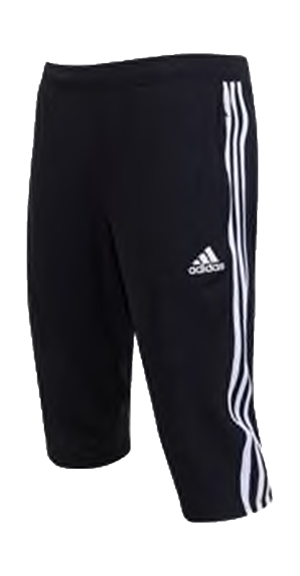 SPURS 3/4 TRAINING PANT (BLACK) Image