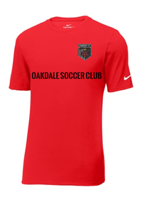 Nike Oakdale Soccer Club Shirt Red
