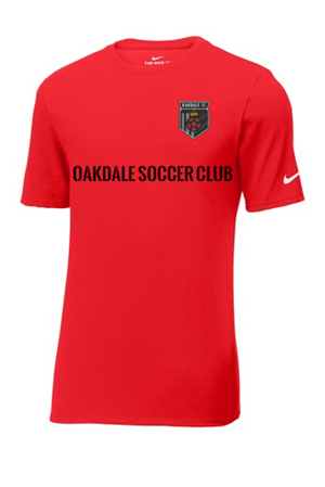 Nike Oakdale Soccer Club Shirt Red Image