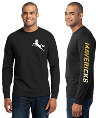 MAVS Long Sleeve Tee (BLACK)