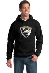 BUSC BLACK PULLOVER HOODY