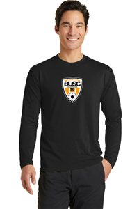 BUSC 50th BLACK LS PERFORMANCE TEE