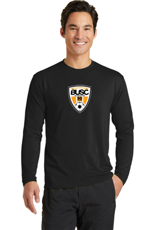 BUSC 50th BLACK LS PERFORMANCE TEE Image