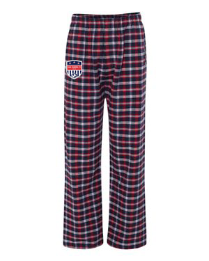 BOXER CRAFT RED/BLUE SRFC FLANNEL PANTS Image