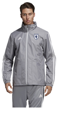SPURS ALL WEATHER JACKET (GREY)