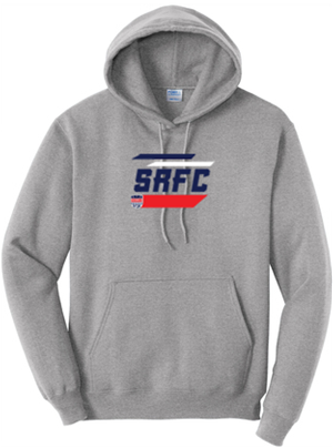 SRFC Grey Stripes Graphic Hoody Image
