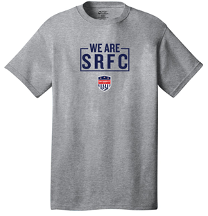 WE ARE SRFC TEE GRAPHITE Image