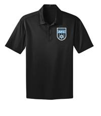 AFC SILK TOUCH PERFORMANCE POLO BLACK