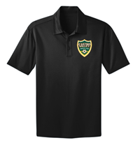 CVSC SILK TOUCH PERFORMANCE POLO BLACK