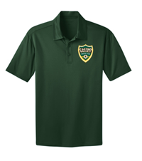 CVSC SILK TOUCH PERFORMANCE POLO DK GREEN