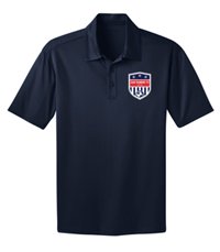 SRFC SILK TOUCH PERFORMANCE POLO NAVY