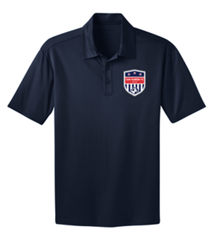 SRFC SILK TOUCH PERFORMANCE POLO NAVY Image
