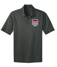 SRFC SILK TOUCH PERFORMANCE POLO STEEL GREY