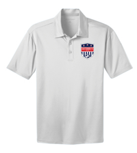 SRFC SILK TOUCH PERFORMANCE POLO WHITE