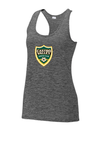 CVSC Ladies Racerback Heather Tank