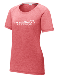 Ladies Tri-Blend Tee Red