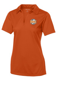 SPORT TEK WOMEN'S POLO ORANGE