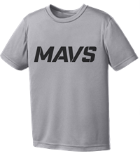 2020 MAVS SHORT SLEEVE PRACTICE TEE