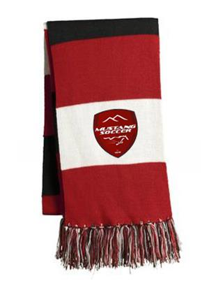 Mustang Soccer Scarf Image