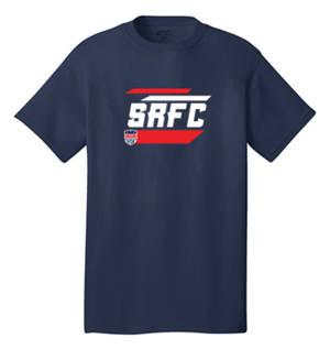 SRFC STRIPES GRAPHIC TEE NAVY Image