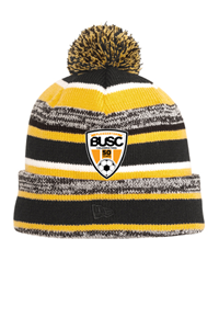 BUSC 50th NEW ERA BEANIE GOLD