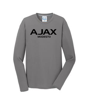Ajax Modesto Long Sleeve Performance Tee Grey Image