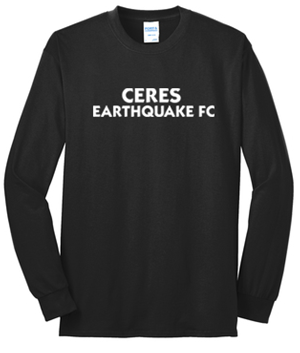 Black Ceres Earquake FC Long Sleeve Tee Image