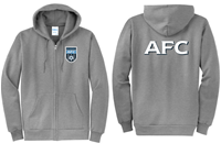 AFC Full Zip Hoody Grey