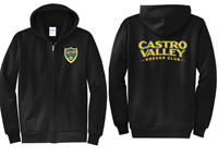 CVSC Full Zip Hoody Black