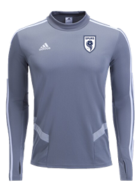 SPURS LS TRAINING TOP (GREY)