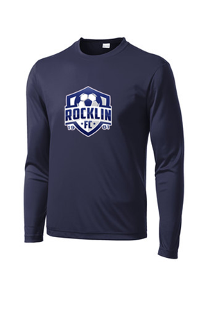Long Sleeve Competitor Navy Image
