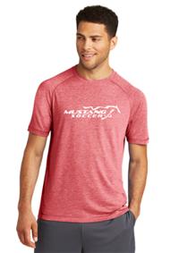 Men's Tri-Blend Tee Red