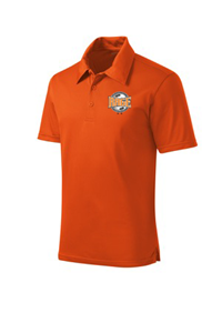 SPORT TEK POLO ORANGE