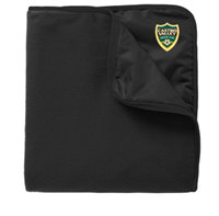CVSC BLACK FLEECE BLANKET