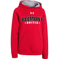 Under Armour Team Rival Fleece Hoody Red