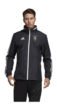 SPURS ALL WEATHER JACKET (BLACK)