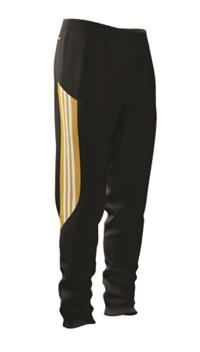 CLOSEOUT CUSTOM TRAINING PANTS BLACK
