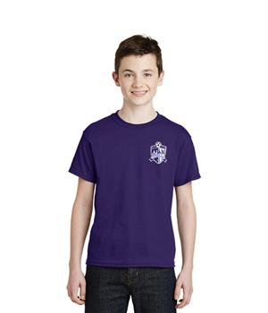Jerzees Purple Cotton Practice Shirt  Image